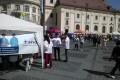 28 MAI 2016  – Elevii Şcolii Postliceale Sanitare Hygeia au participat ca  voluntari la Semimaratonul Sibiu 2016.